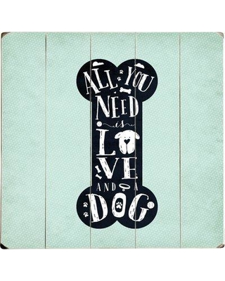 Artehouse LLC All You Need Graphic Art Print Multi-Piece Image on Wood 0004-8339-47