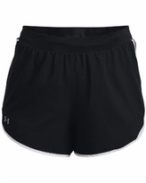 Under Armour Plus Size Ua Fly By 2.0 Shorts - Black/ Black