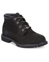 Timberland Women's Nellie Lace Up Utility Waterproof Lug Sole Boots - Black