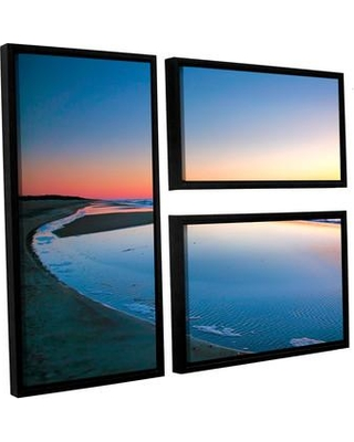 ArtWall Sea And Surf by Steve Ainsworth 3 Piece Framed Photographic Print Set 0ain032g2436f