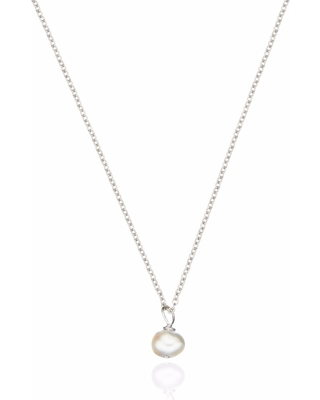 99985631467c8 Amazing Deal on Lily & Roo - Sterling Silver Single Pearl pendant ...