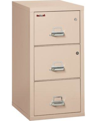 FireKing Legal Safe-In-A-File Fireproof 3-Drawer Vertical File Cabinet Color: Champagne, Interior Color: Platinum, Steel/Metal in Platinum/Champagne