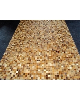 Modern Rugs Patchwork Sandstone Area Rug patchw5-95 Rug Size: Rectangle 5' x 7'