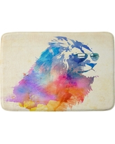 "Robert Farkas Sunny Leo Cushion Bath Mat (36""x24"") Pink - Deny Designs"