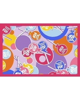 """Fun Rugs Tootsie Roll Pop Pink Area Rug TR - 02 Rug Size: 3'3"""" x 4'10"""""""