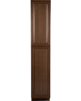 Benton Assembled 18x96x24 in. Pantry Cabinet in Butterscotch