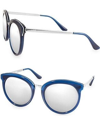 1b336c8dc1a Can t Miss Deals on POPPY 54MM Round Sunglasses