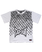 Tapout Little Boys Crew Neck Short Sleeve Graphic T-Shirt, M (5/6) , White