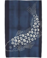 Bloomsbury Market Fortune Fish Pool Beach Towel BBMT5735 Color: Brown