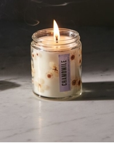Pressed Botanical Candle - Yellow at Urban Outfitters