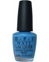OPI No Room For The Blues Nail Lacquer, Blue