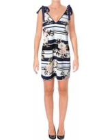 Guess Womens Delta Casual Floral Print Sundress