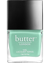 butter LONDON Minted Nail Lacquer Polish, Soft Teal, 0.4 oz.