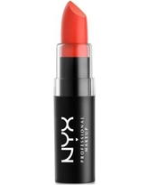 Nyx Professional Makeup Matte Lipstick, 0.16 oz - INDIE FLICK - bright coral-red
