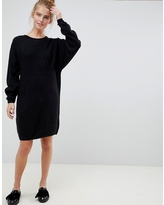 New Look ribbed sweater dress - Black