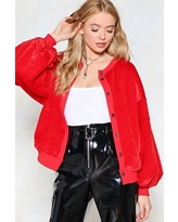 Fur Once in My Life Faux Fur Bomber Jacket