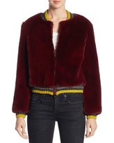 Donica Faux Fur Bomber Jacket