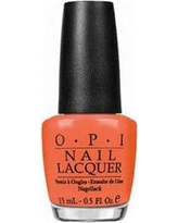 OPI Hot & Spicy Nail Lacquer, Orange