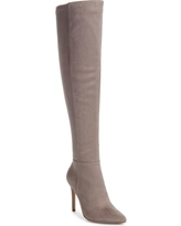 Women's Charles By Charles David Debutante Thigh High Boot, Size 7.5 M - Grey
