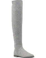 Women's Nine West Eltynn Over The Knee Boot, Size 6 M - Grey