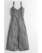 Girls Button-Front Midi Dress from Hollister