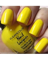 1 New Neon Yellow Nail Polish, By Kleancolor