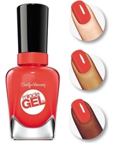 Sally Hansen Miracle Gel Nail Color, World Wide Red, 0.5 fl oz