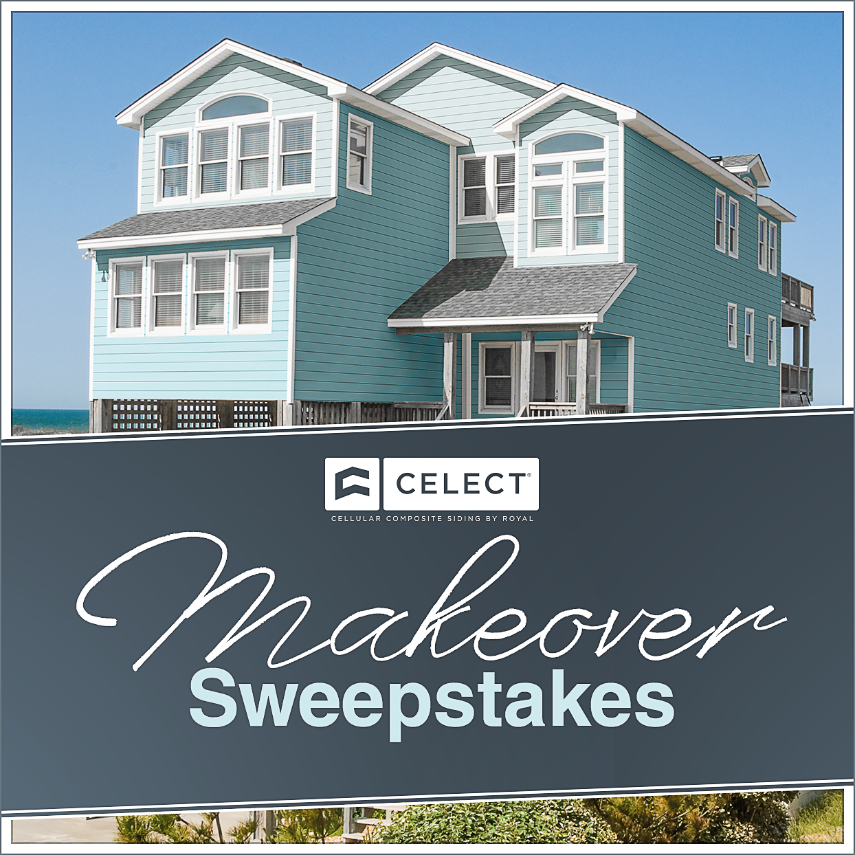 Celect Canvas Beach Home Makeover Sweepstakes