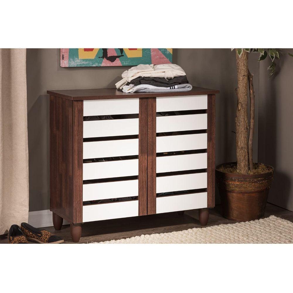 2-Tone Shoe Cabinet