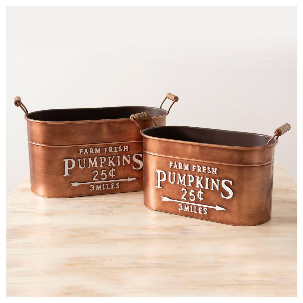 Decorative Tin Buckets
