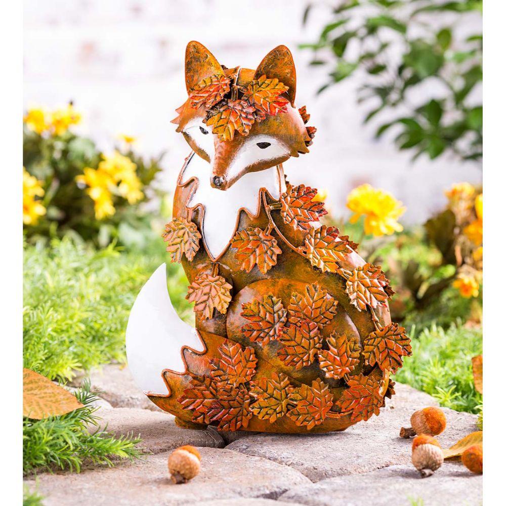 Metal Fox Sculpture