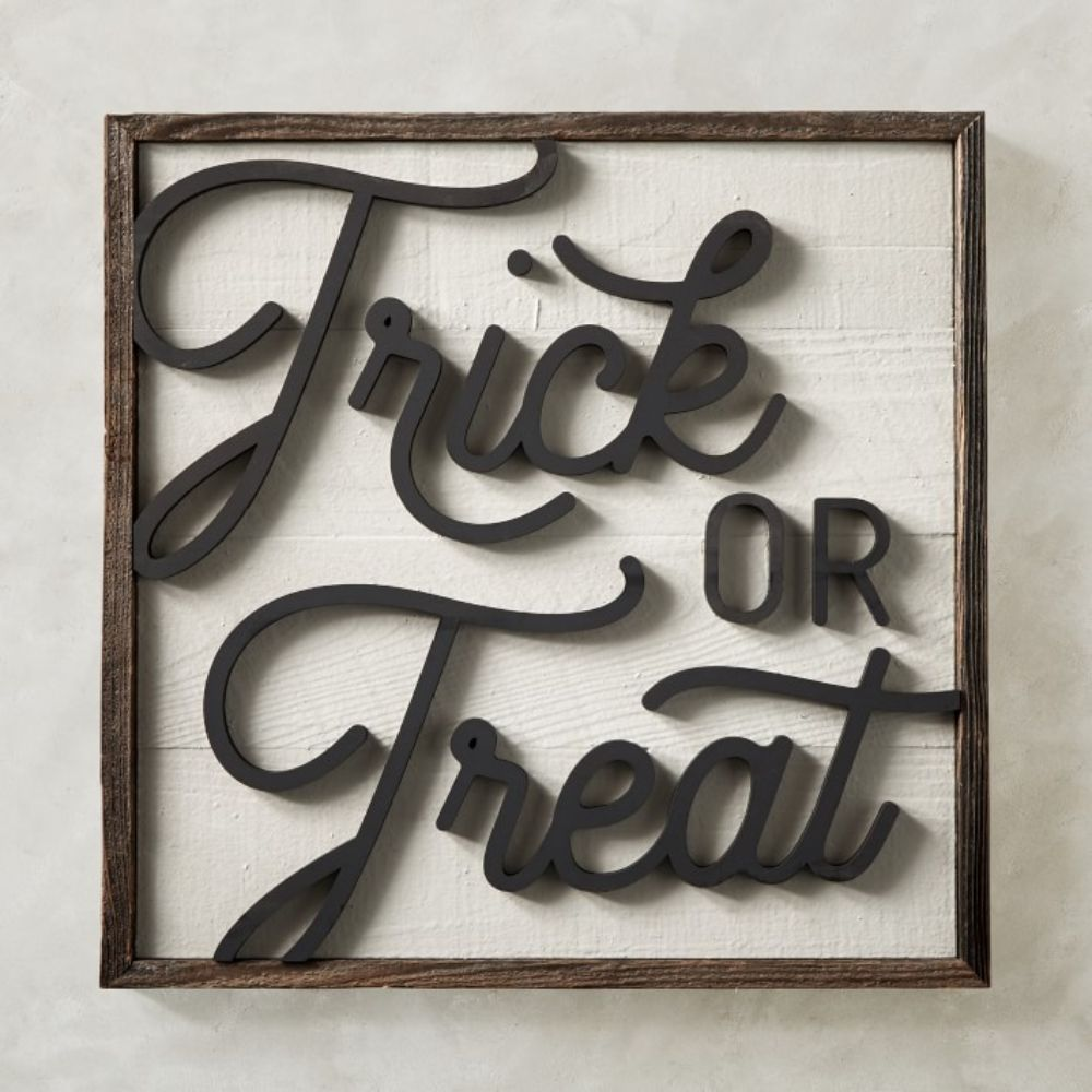 Trick-or-Treat Sign
