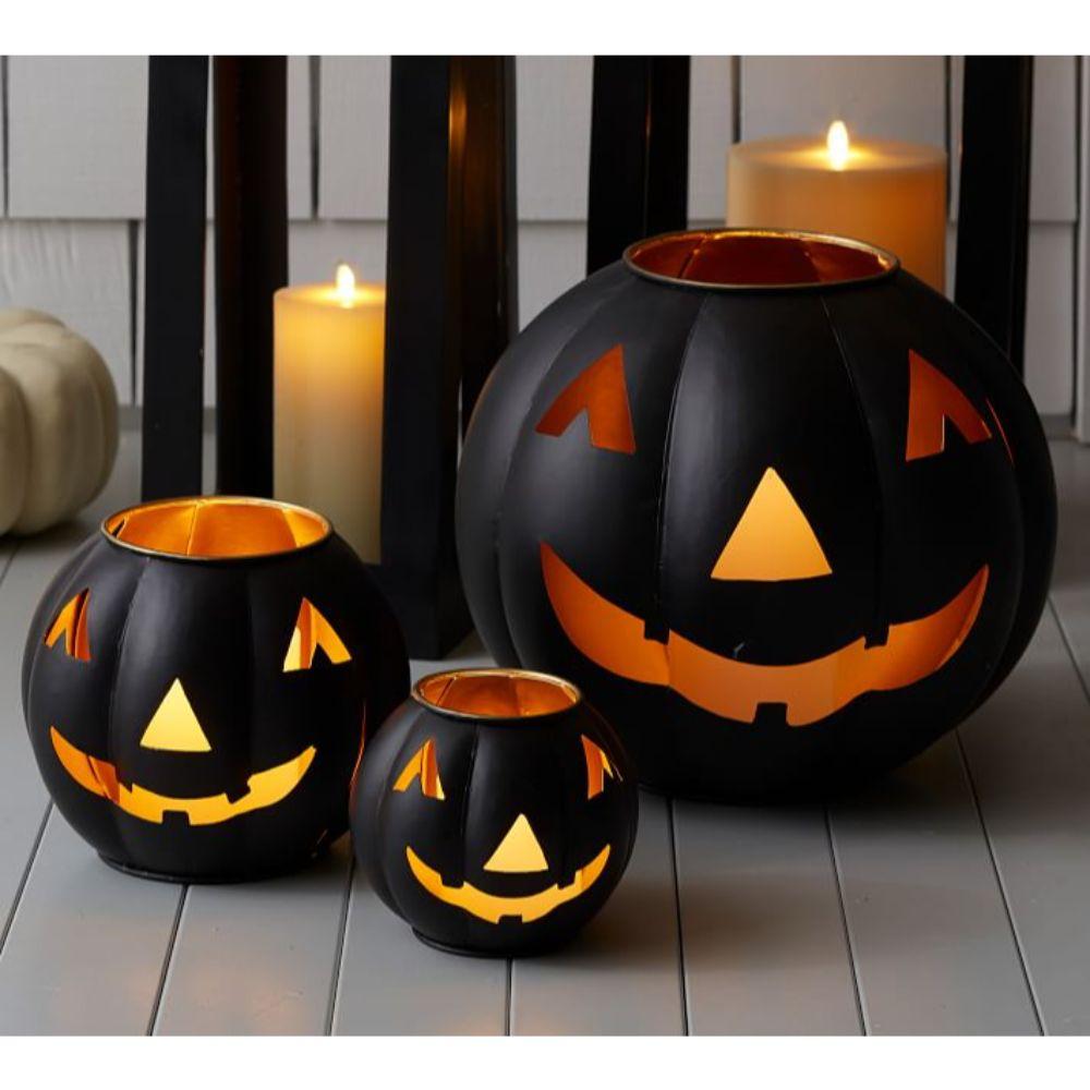 Jack O' Lantern Candle Holders