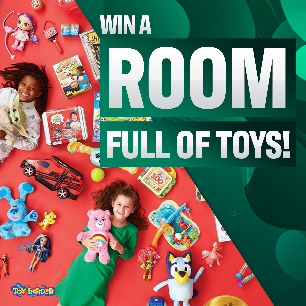 The Toy Insider's Holiday Toy Sweepstakes