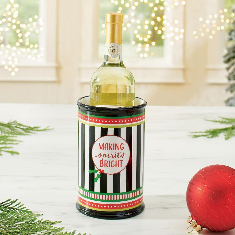 Festive Wine Holder