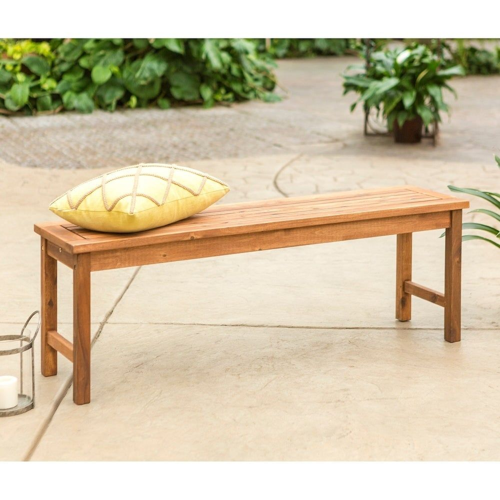 Acacia Outdoor Bench