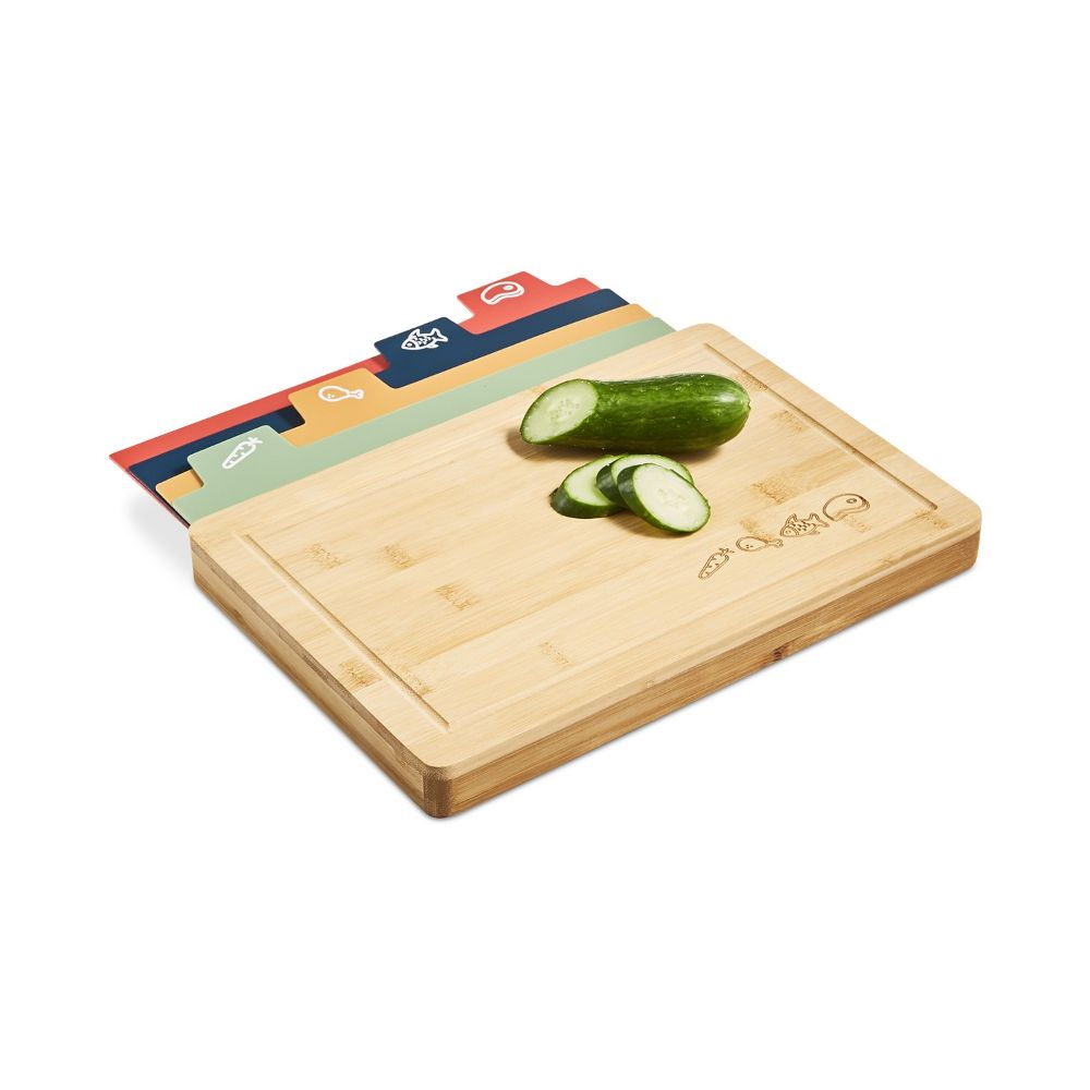 Bamboo Board & Cutting Mat Set