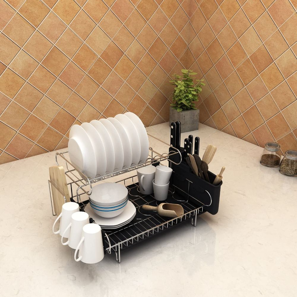 2-Tier Professional Dish Rack