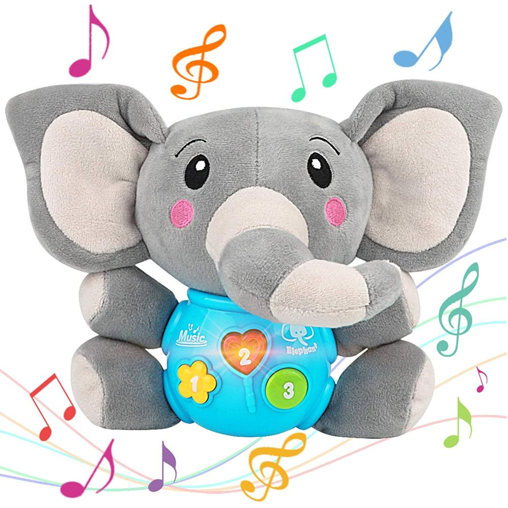 Interactive Plush Elephant