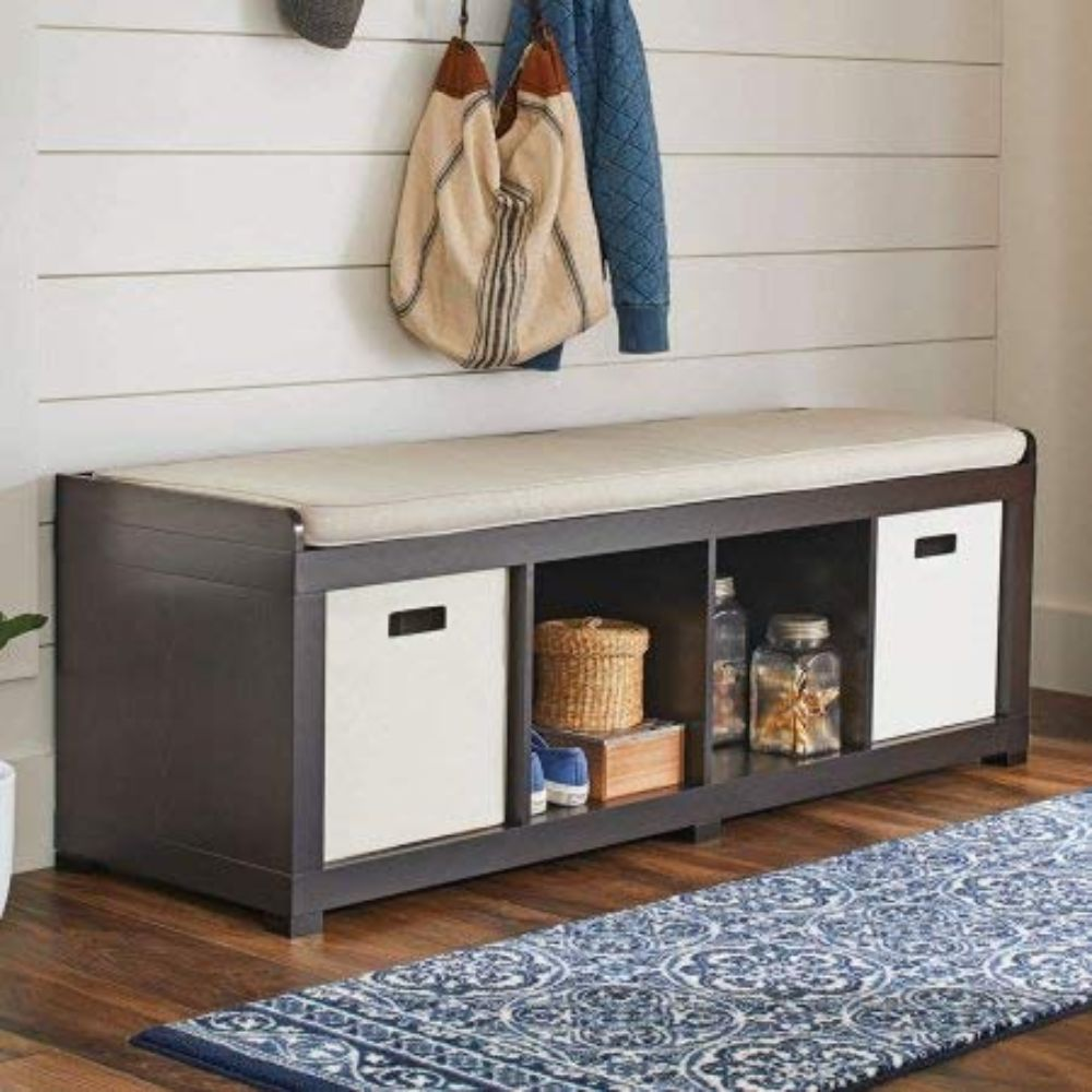 BH&G Storage Bench