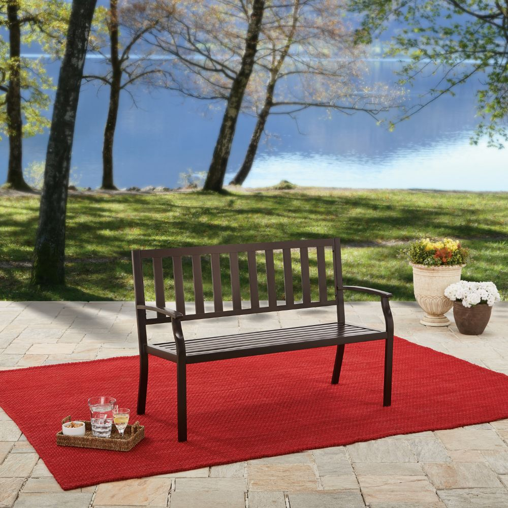 BH&G Outdoor Bench