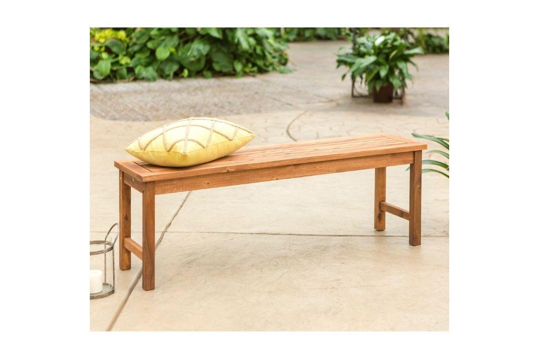Acacia Outdoor Bench