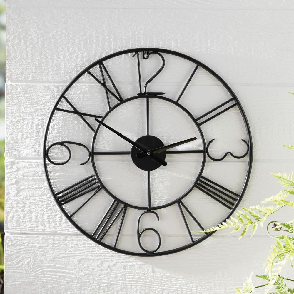 BH&G Outdoor Wall Clock