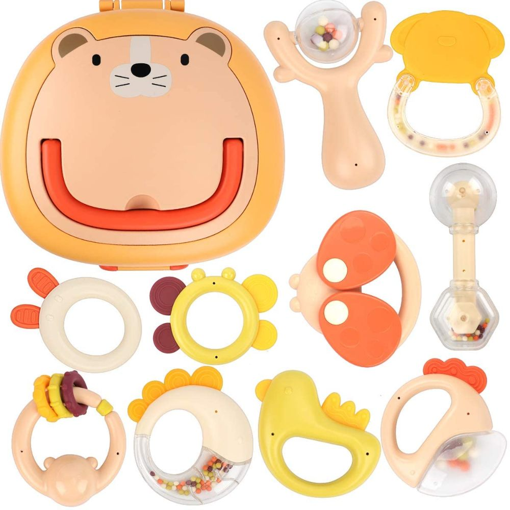 Shaker Teether Toys