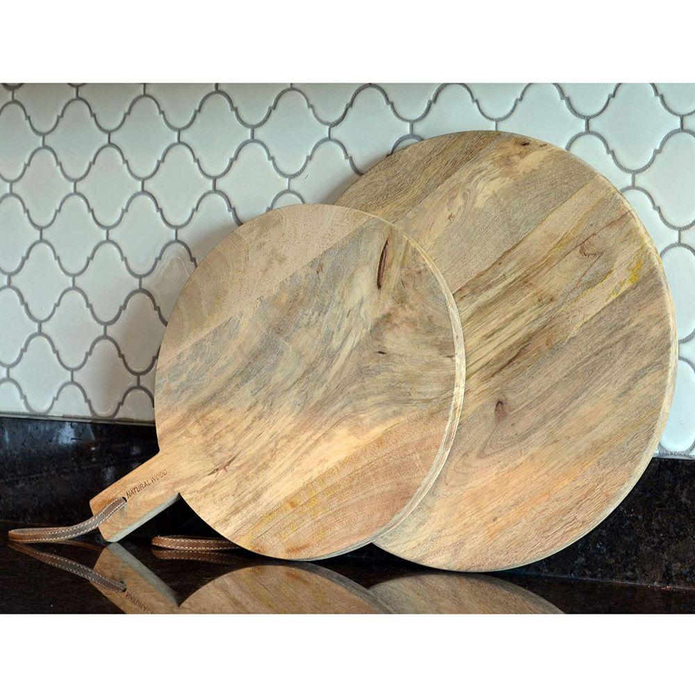 Paddle Cutting Board Set