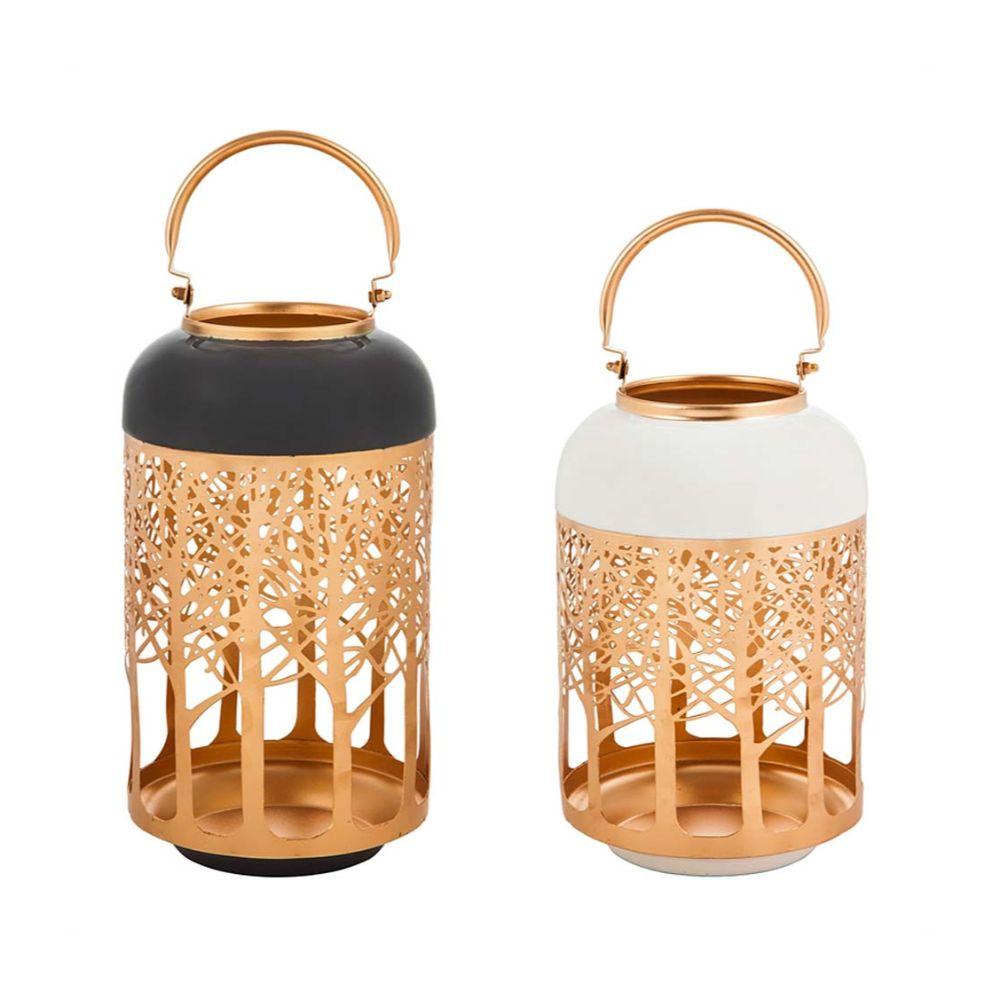 Lasercut Metal Lanterns