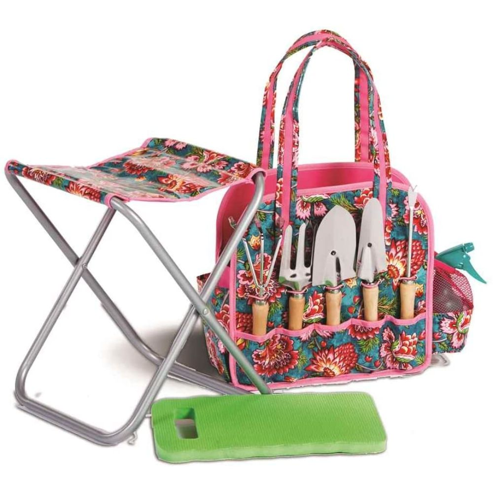 Garden Tote with Stool