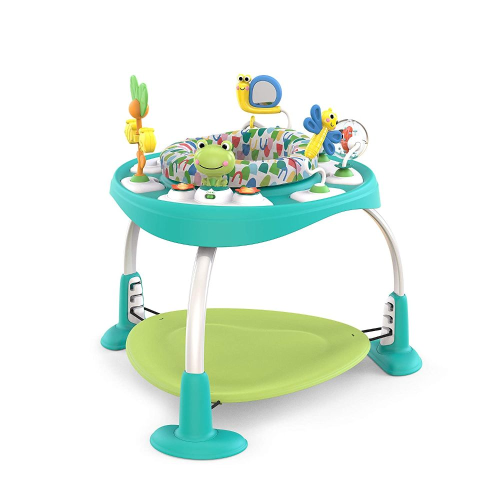 2-in-1 Activity Jumper & Table