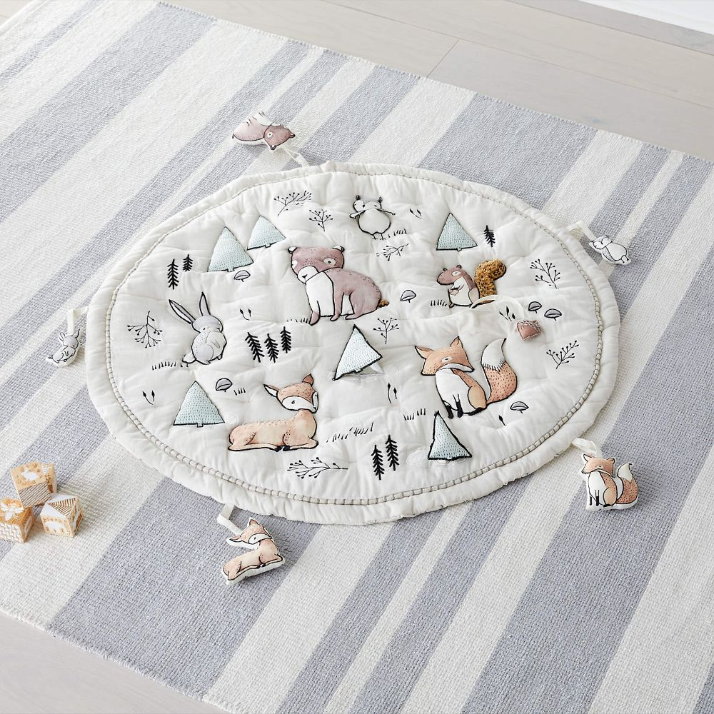 Activity Mat with Rattles