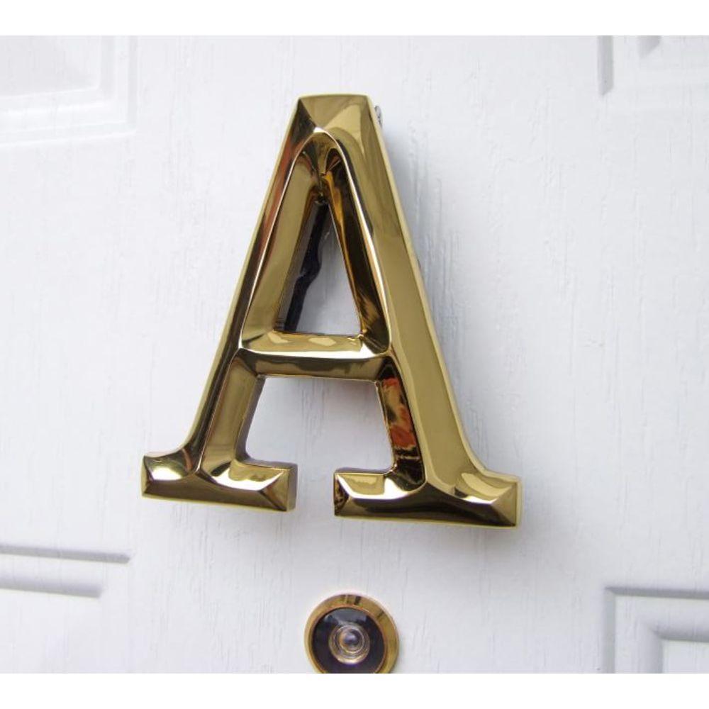 Monogram Door Knocker